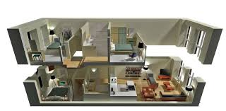 modern two house plans 2 house floor plans 3d homes zone