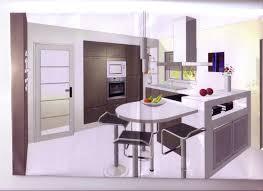 implantation cuisine ouverte photo cuisine semi ouverte 8 votre avis sur implantation cuisine