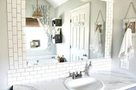 DIY Subway Tile Backsplash Hometalk - Bathroom subway tile backsplash
