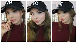 baseball hair styles 5 baseball cap frisuren hairstyles einfach schnell youtube