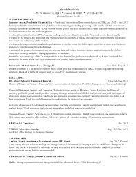 Cma Resume Sample by Anirudh Kariwala Resume