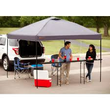 Portable Gazebo Walmart by Ozark Trail Bar Height 10 U0027 Folding Canopy Table Walmart Com