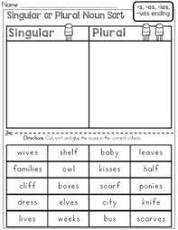 plural words add s worksheet 2 kindergarten pinterest