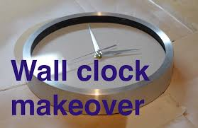 miniproject wall clock face makeover youtube