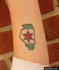 state pride 20 illinois inspired tattoos