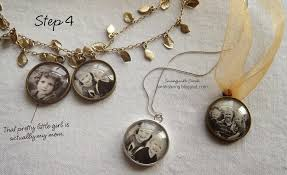 diy glass pendant necklace images Sweet treats by sarah diy photo pendant for under 2 50 jpg