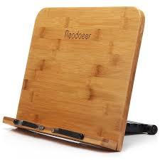 Industrial Desk Accessories by Desktop Book Stands Amazon Com Office U0026 School Supplies Desk