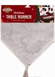 Christmas Plaid Table Runner by Christmas Table Linen