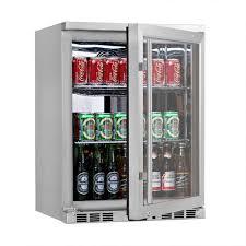 beverage cooler with glass door 24 u201d undercounter glass door refrigerator shop coolers