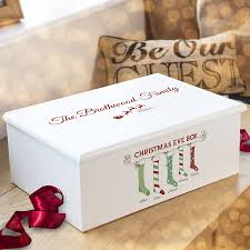 luxury personalised christmas eve family box by keepsake gifts by