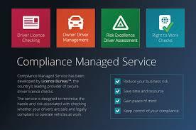 drivers bureau compliance managed service brochure licence bureau