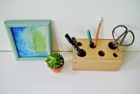 Desk Pencil Holder Diy Gilded Pencil Holder