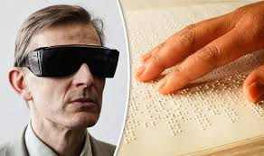 Blind People Glasses Blind Treatment New Therapy Could Stop People Losing Their Sight