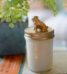 pug home decor pug lid basil lily scented soy candle home decor u0026 lighting