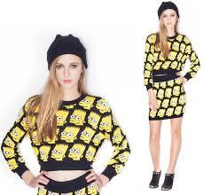 bart sweater bart crop top sweater 100 cotton ragabond com