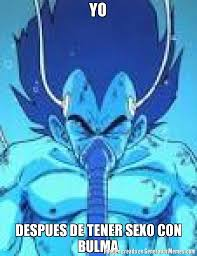 Memes De Vegeta - yo despues de tener sexo con bulma meme de vegeta recuperandose