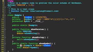 themes of java netbeans themes color schemes of the netbeans ide