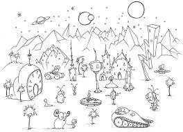 alien coloring pages getcoloringpages com