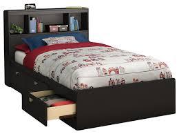 South Shore Twin Platform Bed Bedroom Amusing Prepac Black Twin Storage Platform Bed Bbt 4100