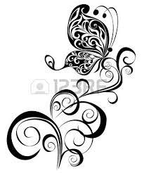 floral yin yang symbol royalty free cliparts vectors and stock