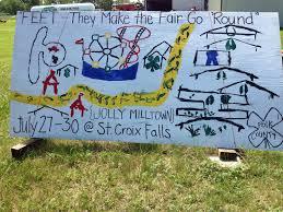 Iowa State Fair Map by Polk County Fair
