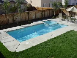 small backyard inground pool design amys office