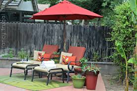 Patio Umbrella Side Table by Furniture Captivating Patio Umbrellas Walmart For Outdoor