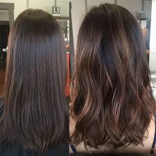 wash hair after balayage highlights cinnamon balayage highlights rinse salon rinsesalon pinterest