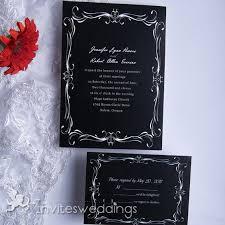 black and white wedding invitations vintage wedding invitations invitesweddings