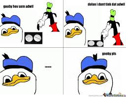 Meme Donald Duck - dolan duck by gaxel4 meme center