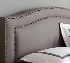 tamsen curved upholstered bed u0026 headboard u2026 dallas decor