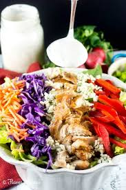 blackened chicken salad with a cajun creole dressing flavor mosaic