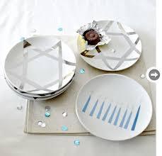 hanukkah plates 9 hanukkah decor ideas style at home