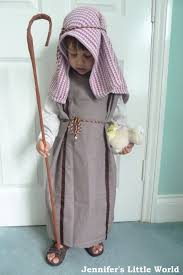 how to make a nativity play shepherd s costume from a pillowcase
