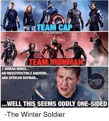 Winter Soldier Meme - team cap igiblerd vision team tronman 2 human wmds an