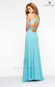 faviana 7118 tiffany blue prom dress a finer moment