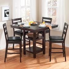 Cherry Wood Dining Room Set by High Top Dining Table Chairs Kitchen Dining Cherry Wood High Top