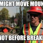 Meme Construction - road construction ron meme generator imgflip