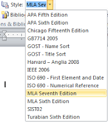 mla apa chicago u2014 microsoft word formats bibliographies for you