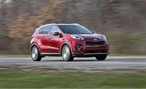 kia vehicles list 2018 kia sportage in depth model review car and driver