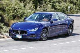 chrome blue maserati maserati ghibli 2018 review by car magazine