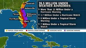 Map Of Florida And Georgia by Hurricane Matthew What It U0027s Like Living In The Storm U0027s Path