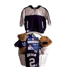 New York Gift Baskets York Yankees Derek Jeter Baby Gift Basket Grand Slam
