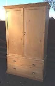 solid pine kitchen cabinets old stripped pine larder cupboard linen cupboard antique pine