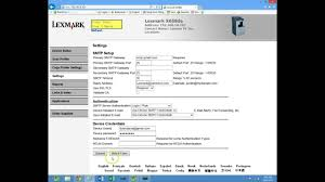 lexmark scan to email and address book youtube