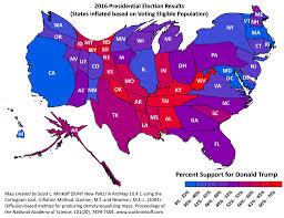 2016 Presidential Election Map Maps U2013 Scott L Minkoff