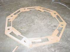 Octagon Poker Table Plans Pieces To Build Octagon Poker Table Woodworking Pinterest