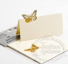 Placecards Ivory Butterfly Place Cards Butterfly Place Cards