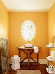 yellow tile bathroom ideas yellow wall paint mirror with oval shaped and white frame rustic