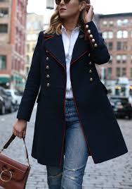 military coat memorandum nyc fashion lifestyle blog for the